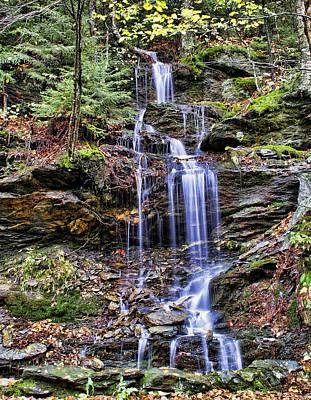Photograph - Cascade Falls by Joel Gilgoff