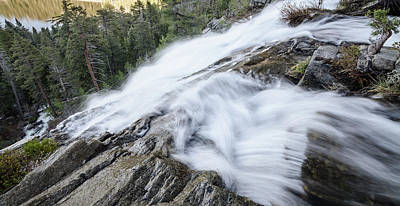 Photograph - Cascade Falls by Margaret Pitcher