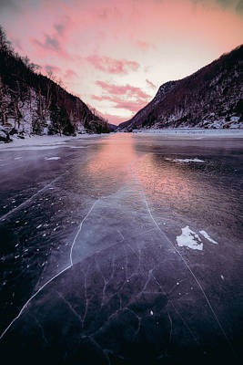 Photograph - Cascade Ice by Brad Wenskoski