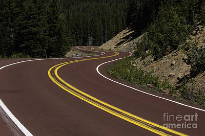Photograph - Cascade Lakes Highway by Jim Corwin
