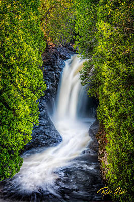 Photograph - Cascade - Lower Falls by Rikk Flohr
