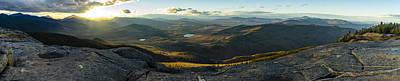 Photograph - Cascade Mountain Sunset by Brad Wenskoski