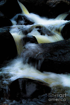 Photograph - Cascade Of Color by The Forests Edge Photography - Diane Sandoval
