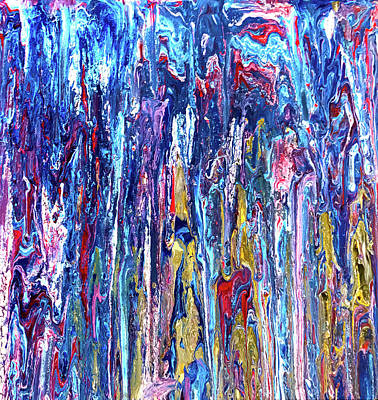 Photograph - Cascade Of Colors by Barbara Snyder