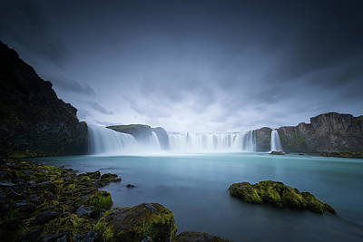Photograph - Cascade Of The Gods by Dominique Dubied