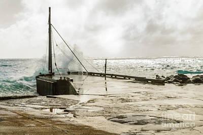 Photograph - Cascade Pier by Werner Padarin