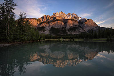 Photograph - Cascade Ponds Reflections by Celine Pollard