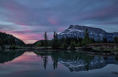 Photograph - Cascade Ponds Sunrise by Celine Pollard