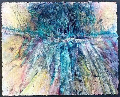 Painting - Cascade Ridge by Carolyn Rosenberger