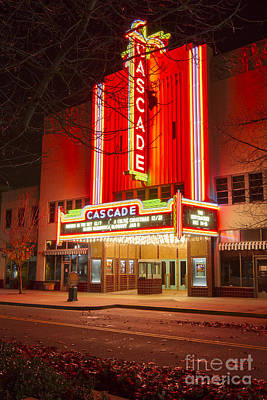 Photograph - Cascade Theater by Randy Wood