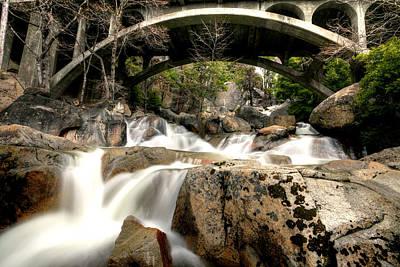 Photograph - Cascade Underbridge Undesaturated by David Andersen