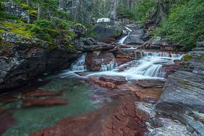 Photograph - Cascades by Gary Lengyel