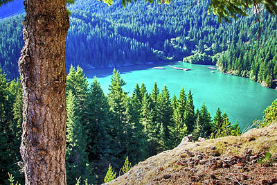 Photograph - Diablo Lake - Cascades Mountains by Tatiana Travelways