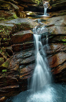 Photograph - Cascades, New Hampshire by Tim Bryan