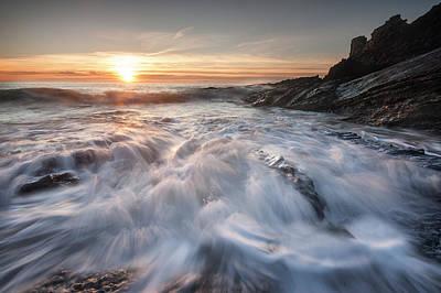 Photograph - Cascades by Niall Whelan