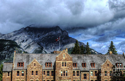 Cascades Of Time Gardens Banff National Park Alberta Canada Art Print