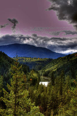 Digital Photograph - Cascades View by David Patterson