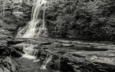 Photograph - Cascades Waterfall by Joe Shrader