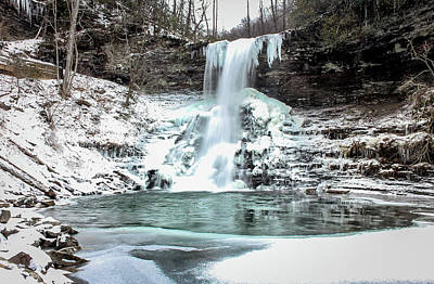Photograph - Cascades Winter Wonderland by Chris Berrier