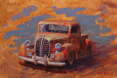 Truck Painting - Cascading Color by Cody DeLong