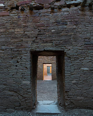Chaco Canyon Photograph - Cascading Doors by Joseph Smith