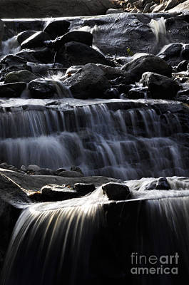 Photograph - Cascading Falls by Clayton Bruster