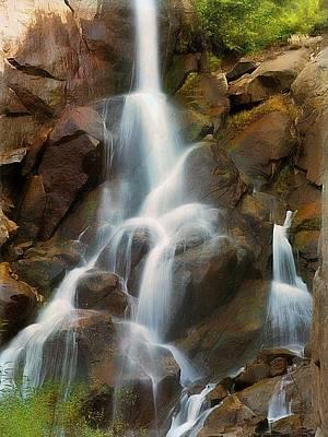 Photograph - Cascading Falls by Scott Fracasso