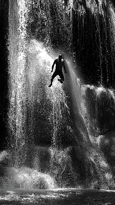 Photograph - Cascading by Guillermo Rodriguez