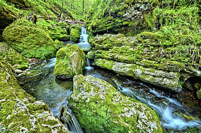 Photograph - Cascading Iowa Waters 2 by Bonfire Photography