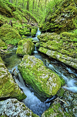 Photograph - Cascading Iowa Waters 3 by Bonfire Photography