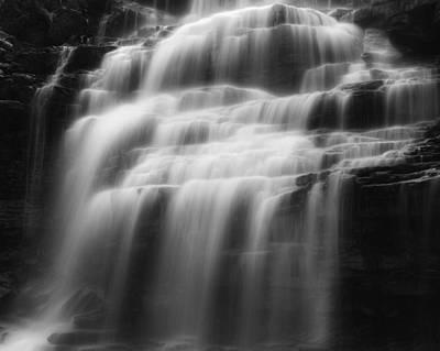 New Paltz Photograph - Cascading Veil  by Bill Wakeley