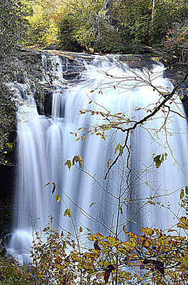 Photograph - Cascading Water Fall by Charles Bacon Jr
