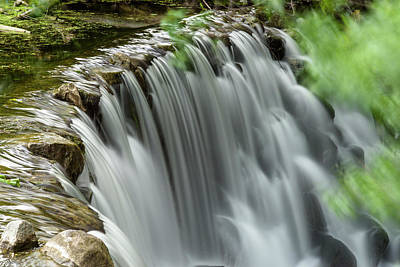 Photograph - Cascading Water by Jonah Anderson