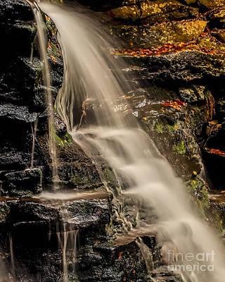 Photograph - Cascading Water by Nick Zelinsky