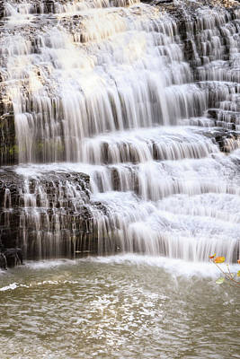 Photograph - Cascading Waterfall by Joni Eskridge