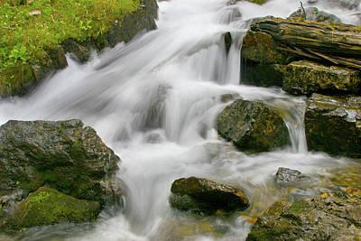 Cascading Waters Print by Crystal Garner