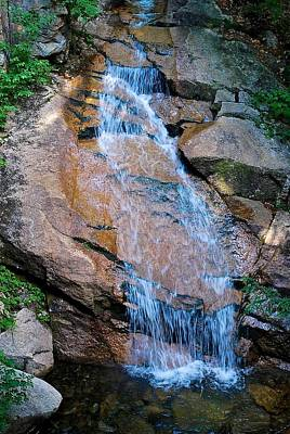 Photograph - Cascading Waters  by Suzanne McDonald