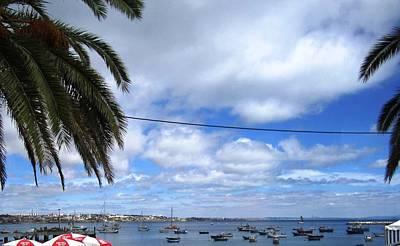 Photograph - Cascais Fishing Boats II Portugal by John Shiron
