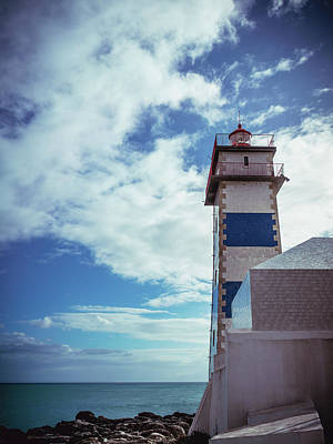 Photograph - Cascais Light Blue by Nisah Cheatham
