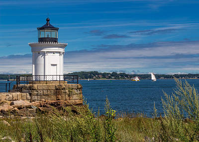 Coastal Maine Photograph - Casco Bay Afternoon by Laurie Breton