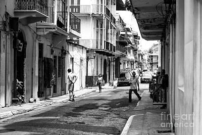 Photograph - Casco Viejo Street Scene by John Rizzuto