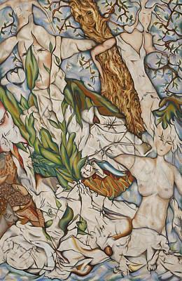 Case Of Forest Art Print by Turgay Denizel