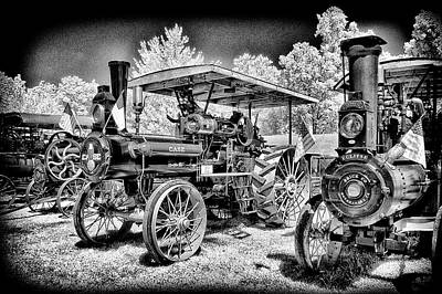Photograph - Case Tractor Looking Like New by Paul W Faust - Impressions of Light