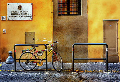Photograph - Caserma S. Marcello Bicycle by Craig J Satterlee