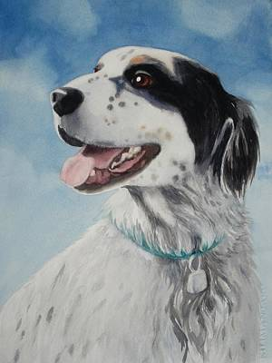 Painting - Casey by Marilyn Jacobson