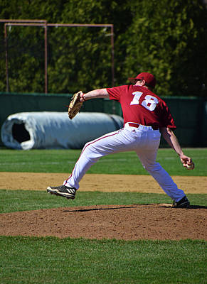 Photograph - Casey On The Mound by Mike Martin