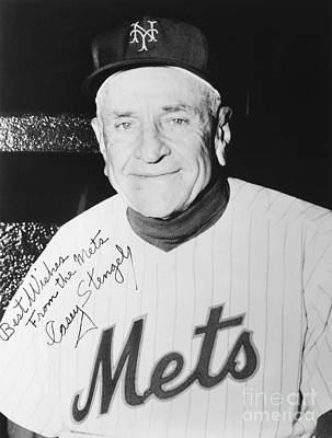 Autographed Photograph - Casey Stengel (1890-1975) by Granger