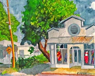 Painting - Caseys Place by Eric Samuelson