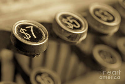 Cash Register Photograph - Cash by Edward Fielding