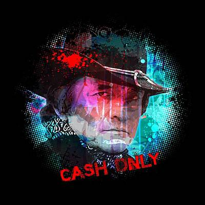 Painting - Cash Only by Gary Grayson